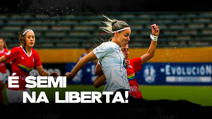 Corinthians na semifinal da Libertadores Feminina