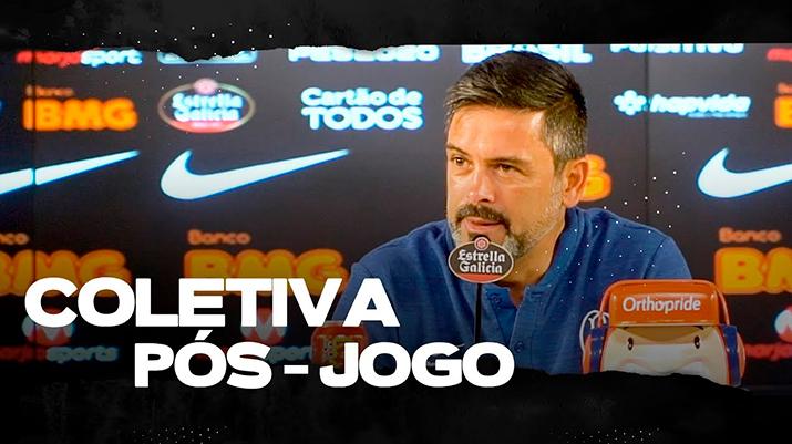 Coletiva de Cuca - Corinthians 0 x 0 Santos