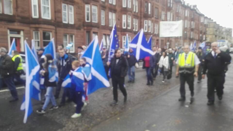 Exit Brexit March - Glasgow