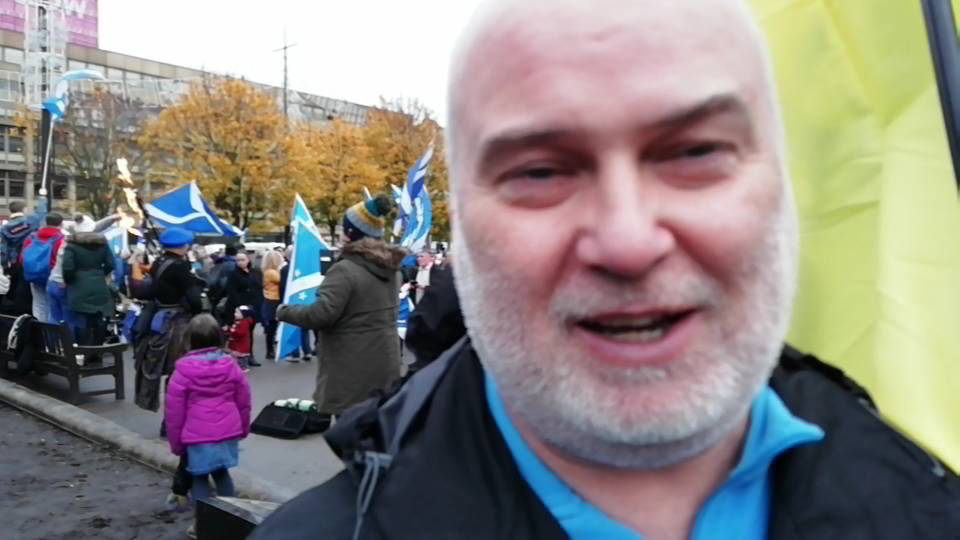 ADDITIONAL CAM FOOTAGE - National Rally #IndyRef2020