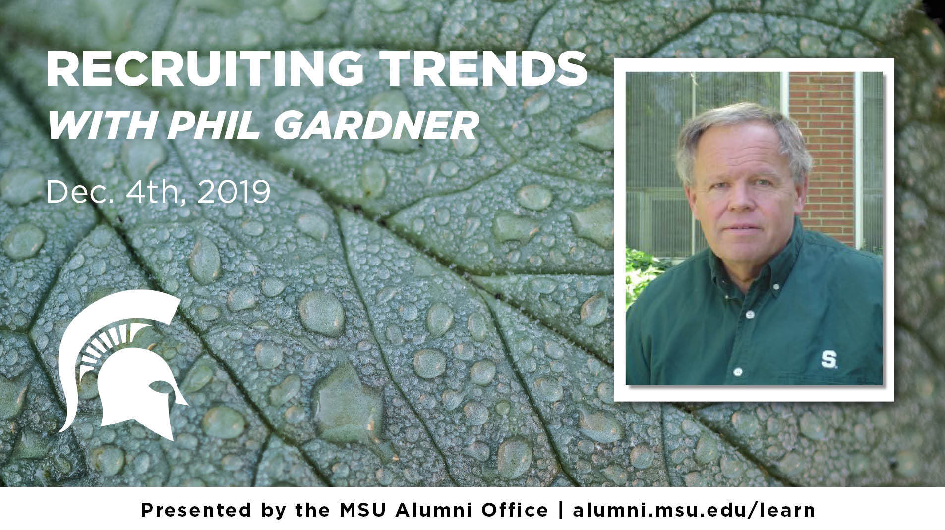 livestream cover image for Phil Gardner | Recruiting Trends 2019