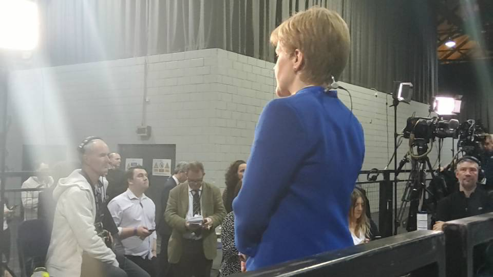#GE2019 CAM 2 Glasgow Count Coverage