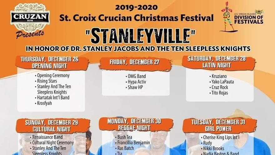 Christmas Festivals 2020 St. Croix Crucian Christmas Festival 2019 2020 on Livestream