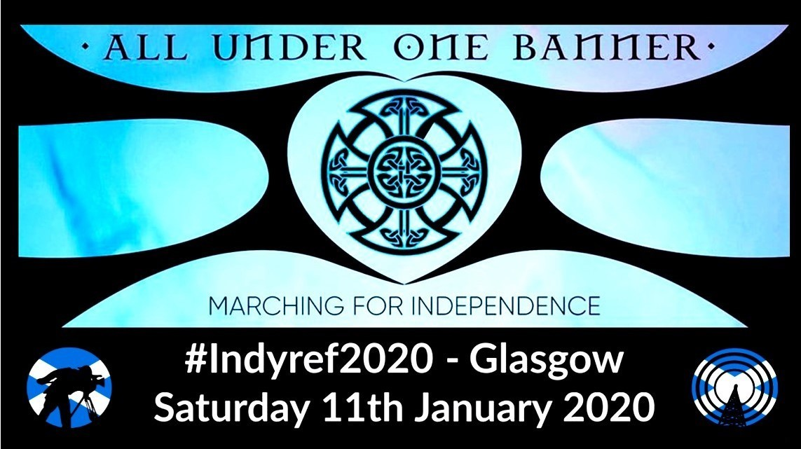 CAM 3 Front-of-march - AUOB #indyref2020
