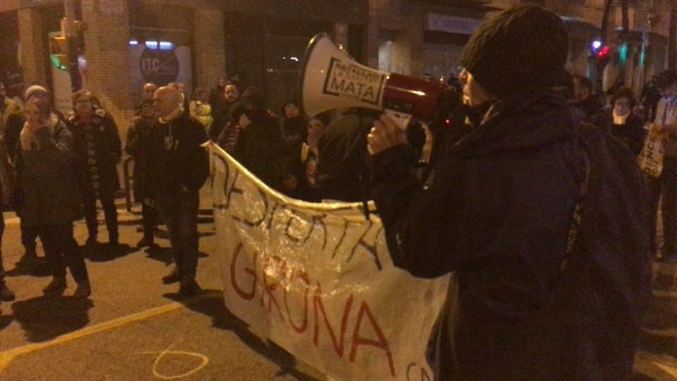 Girona demonstration