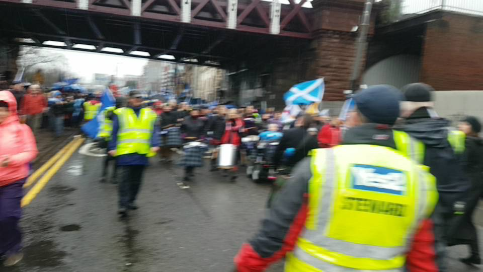 CAM7 additional Front march AUOB #indyref2020