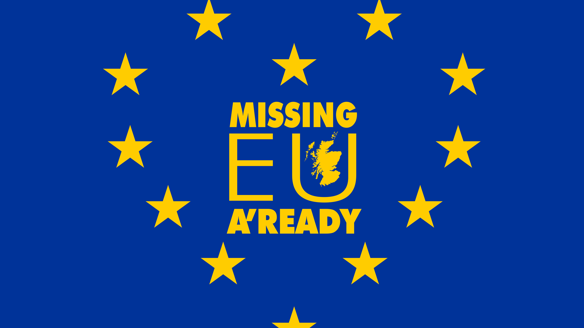 Missing EU a'ready - Edinburgh