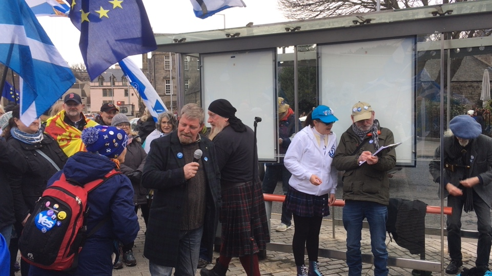 GM: Stand Up For Scotland day of action