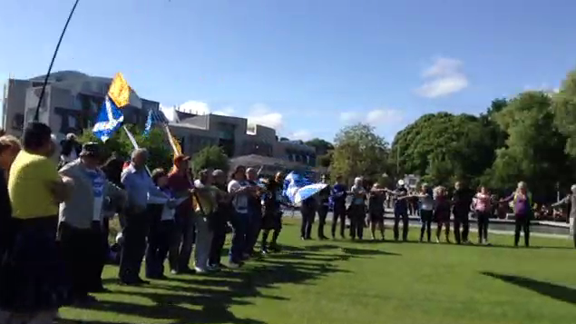 Stand Up For Scotland day of action