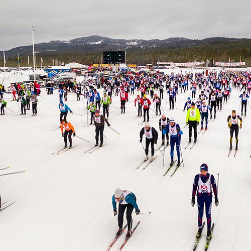 Startplats Oxberg – Vasaloppet 30