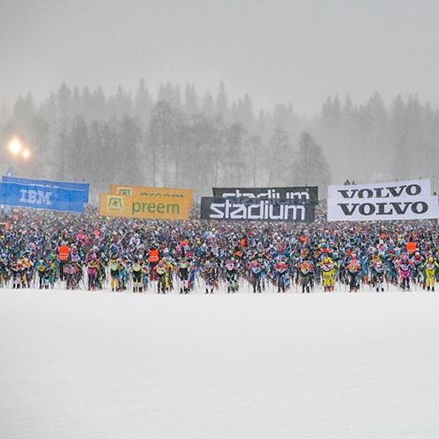 Startplats Sälen – Vasaloppet