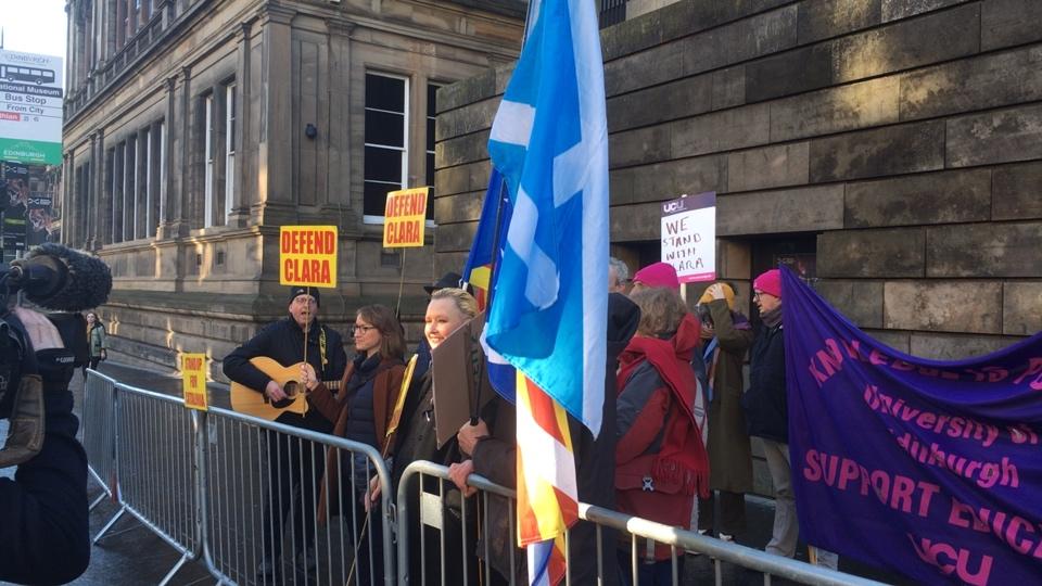 Clara Ponsatí extradition - legal arguments begin in Edinburgh