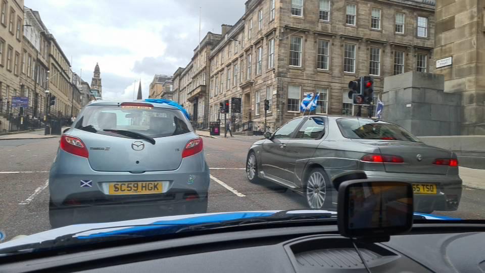 SIM Glasgow Independence Cavalcade