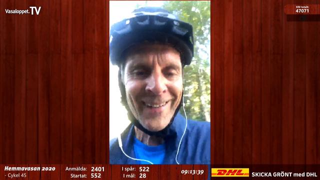 Cykeln går sönder i Hemmavasan 2020