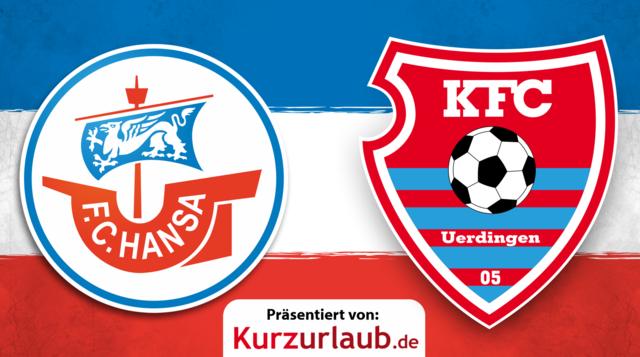 3. Spieltag: Hansa gegen Uerdingen