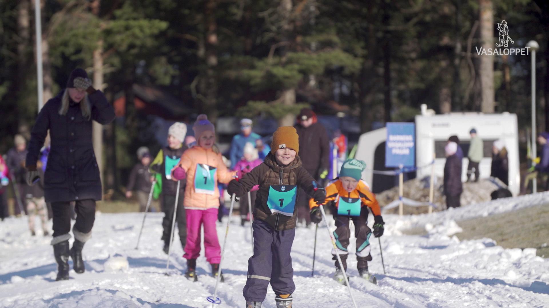 Barnens Vasalopp skidor
