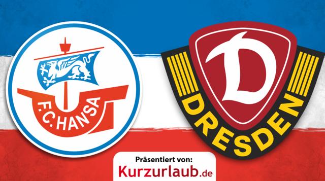 11. Spieltag: Hansa gegen Dynamo Dresden