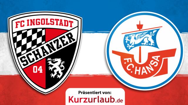 16. Spieltag: Hansa gegen Ingolstadt