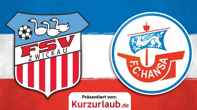 17. Spieltag: Hansa gegen Zwickau