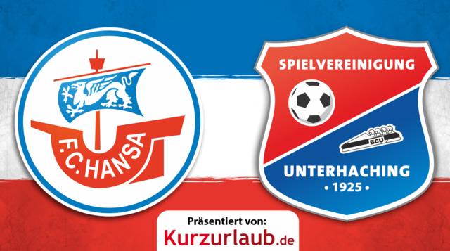18. Spieltag: Hansa gegen Unterhaching