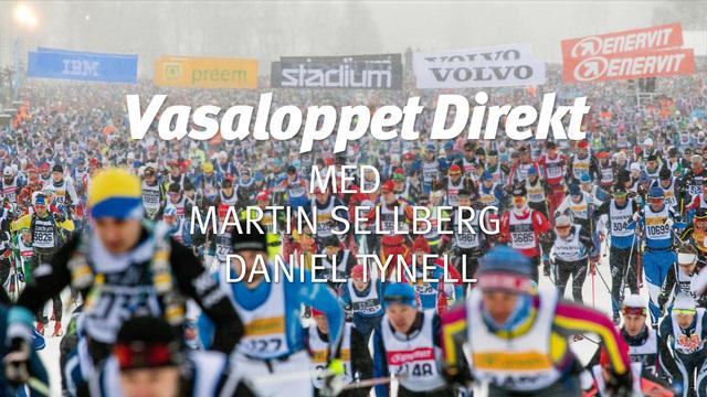 Vasaloppet Direkt med Martin Sellberg och Daniel Tynell
