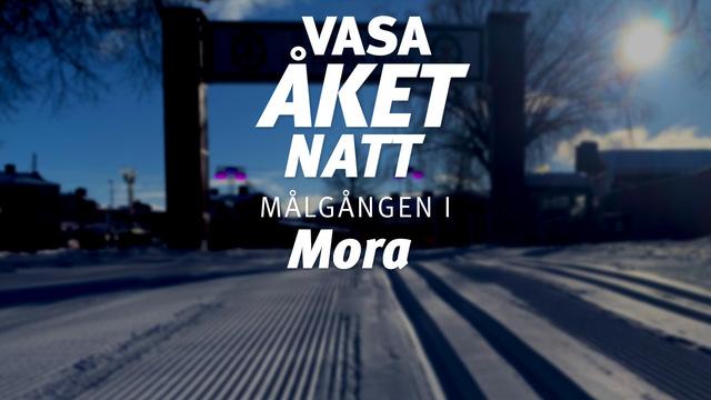 5 mars, 2021 – Målgång i Mora