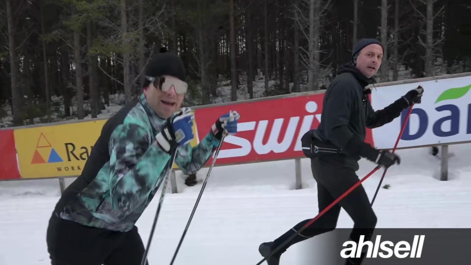 Hans & Petter utmanar kameramannen Adam i fart!