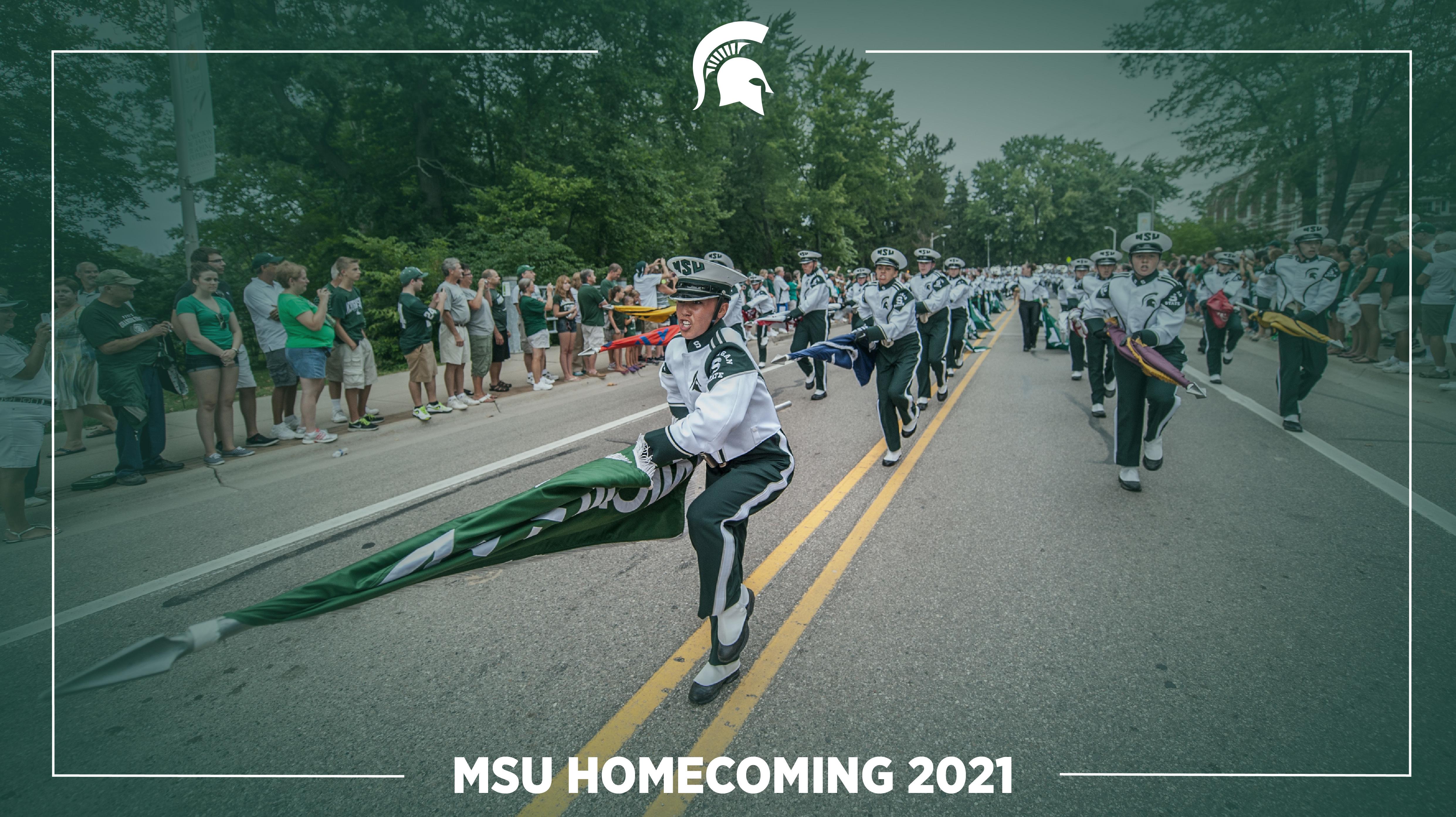 Livestream cover image for MSU Homecoming Parade 2021