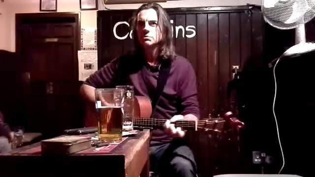 Kevin Gore at the Captains Bar