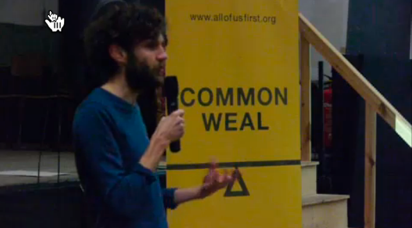 Common Weal National Tour - Dunoon, Argyll.