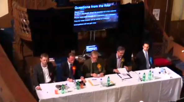 Conversation not Confrontation - 2015 UK General Election Hustings Meeting