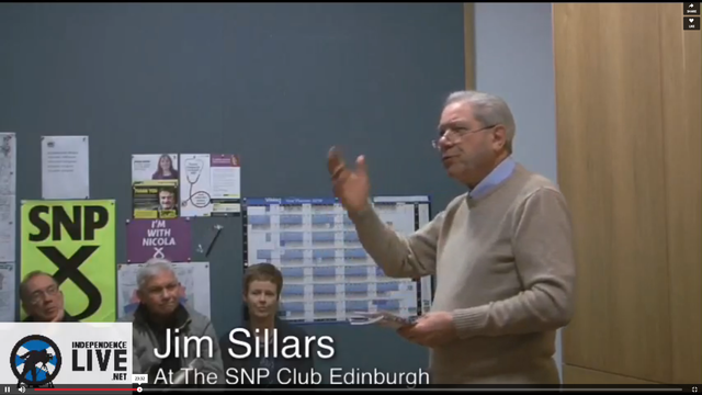 Jim Sillars at the SNP Club Edinburgh