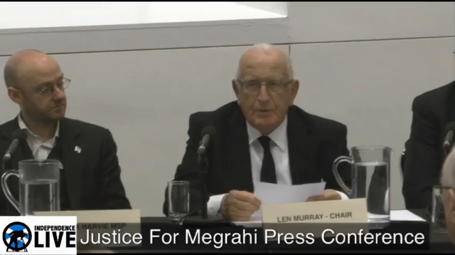 Justice for Megrahi Press Conference