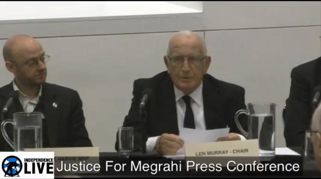 Justice for Megrahi Press Conference