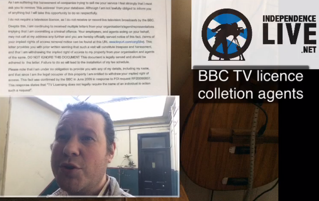 BBC TV Licence Collection Agents