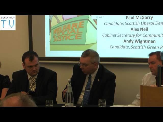 Holyrood Hustings - Welfare & Social Justice