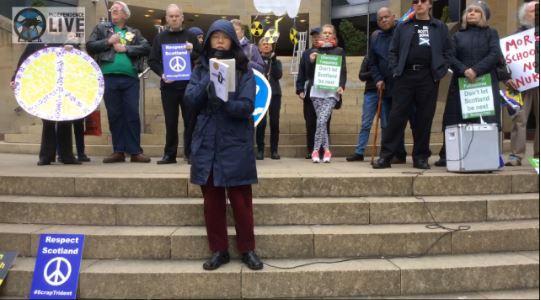 Scottish CND - Chernobyl Gathering & Vigil