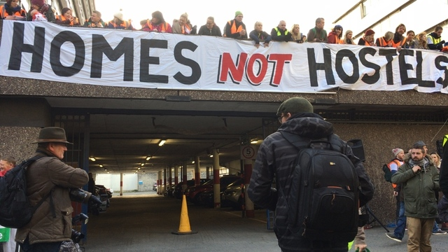 #HomeSweetHome - support rally in Dublin