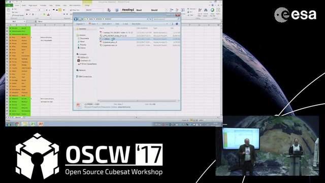 Open Source Cubesat Workshop 2017 on Livestream