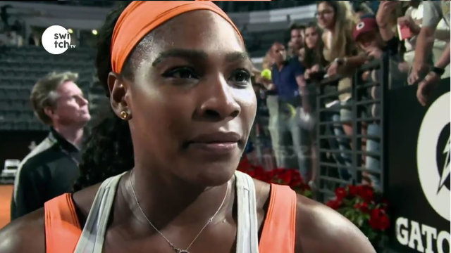Serena Williams: I will hit you with tennis ball