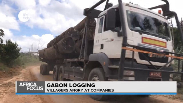 Gabon residents angry with Logging Company