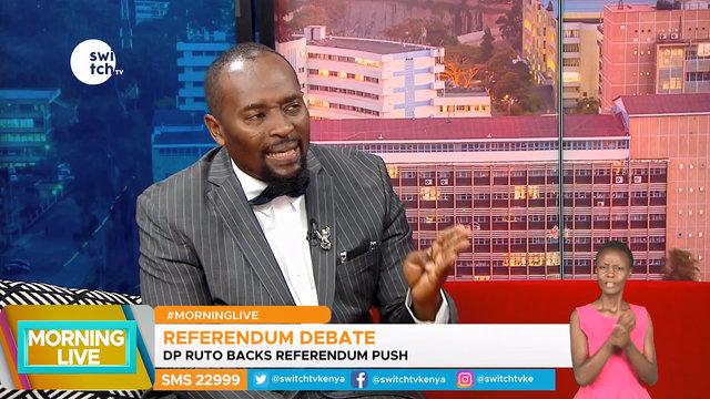 Why DP Ruto backs referendum push