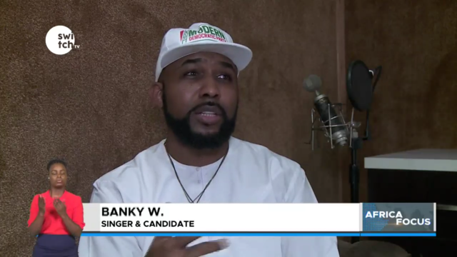 Banky W vies for an elective seat, Nigeria