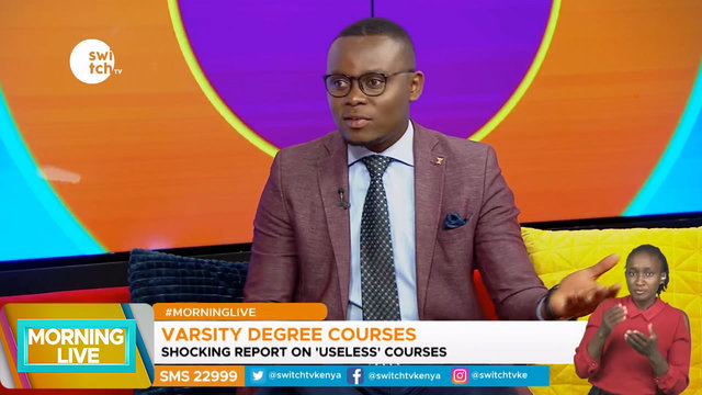 Morning Live: Are you a victim of 'Useless' Degree course