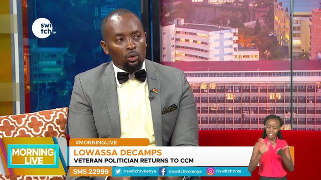 Edward Lowassa returns to CCM Party