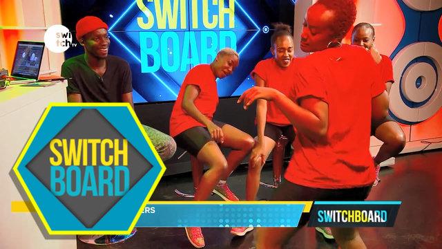 CQ Dancers live on Switchboard