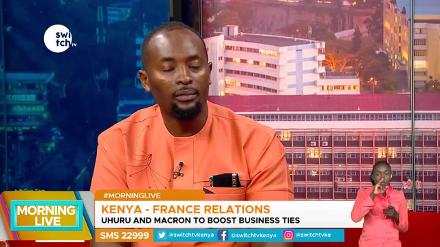 Uhuru and Macron to Boost business ties between Kenya and France